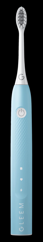 GLEEM Rechargeable Toothbrush in Aqua