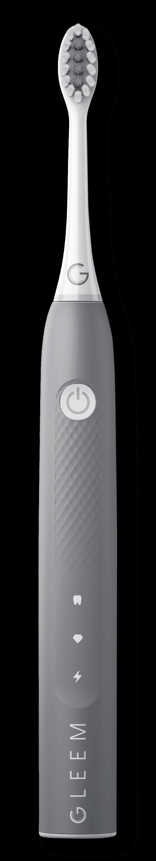 GLEEM Rechargeable Toothbrush in Slate