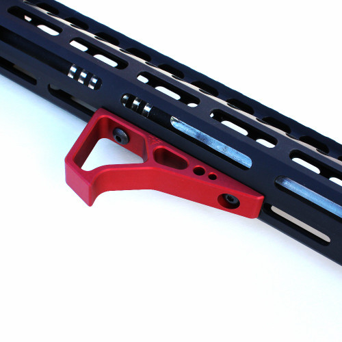 VP-17 Mod A M-LOK Angled Grip - Red Installed
