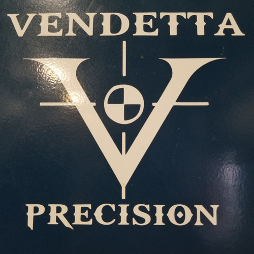 Vendetta Precision V-Logo - Vinyl Transfer Decal