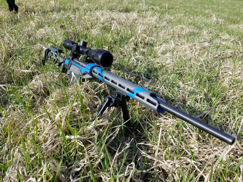 VP-CBRC Savage LA Rifle Chassis - Blue & Gray