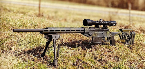 VP-CBRC Savage LA Rifle Chassis - Olive