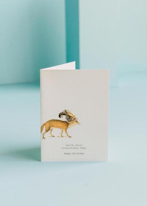 Tokyo Milk Greeting Card - Irresistably Foxy