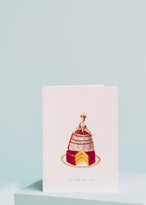 Tokyo Milk Greeting Card - Let them Eat Cake