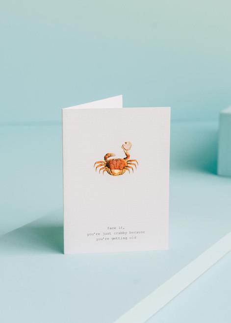 Tokyo Milk Greeting Card - Just Crabby