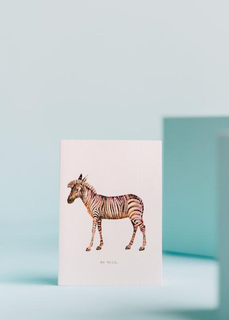 Tokyo Milk Greeting Card - Be Bold