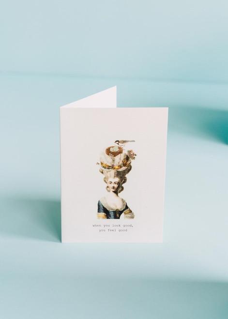 Tokyo Milk Greeting Card - Look Good Feel Good