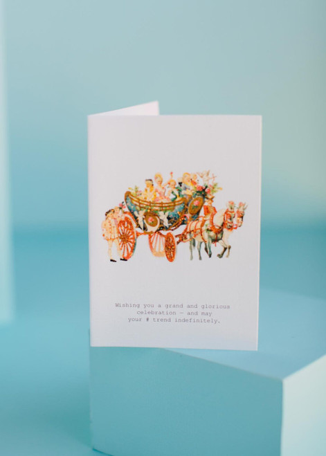 Tokyo Milk Greeting Card - Grand and Glorious Celebration