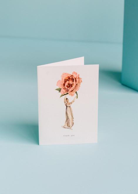 Tokyo Milk Greeting Card - Thankyou Rose