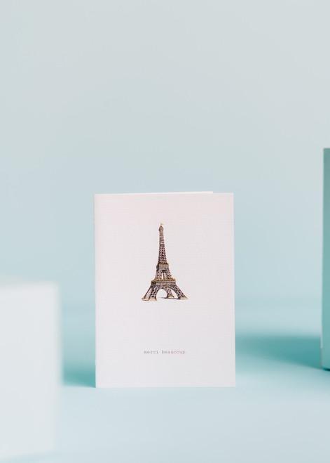 Tokyo Milk Greeting Card - Merci Beucoup