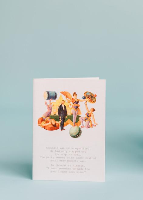 Tokyo Milk Greeting Card - Mystified Reginald...