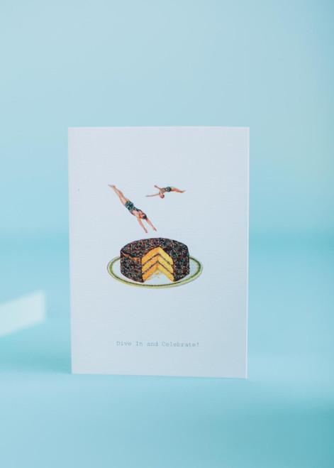 Tokyo Milk Greeting Card - Dive in!