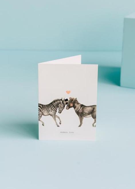 Tokyo Milk Greeting Card - Modern Love