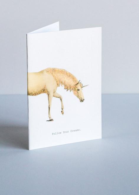 Tokyo Milk Greeting Card - Follow Your Dreams