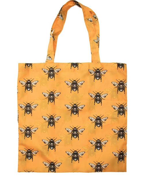 Foldable Shopping Bag - Bees