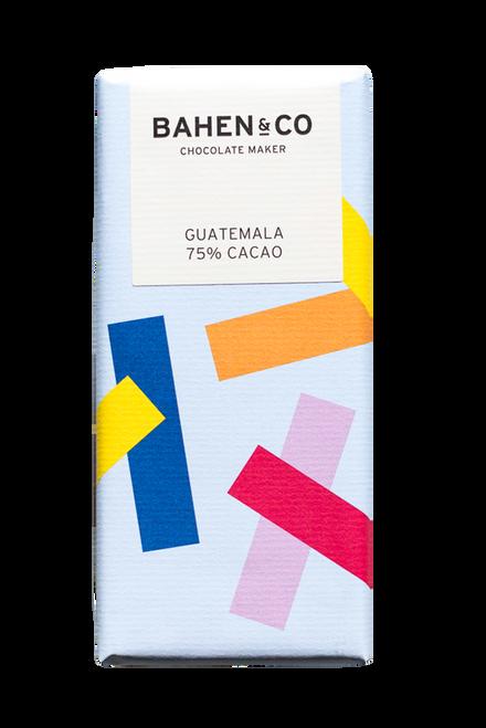 Bahen and Co Chocolate - Guatamalan 75% single origin