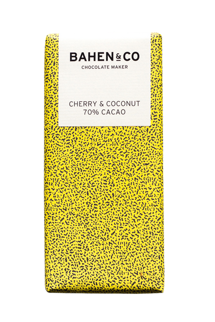 Bahen and Co Chocolate - Cherry Coconut 70%
