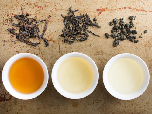 Tea Tasting Flight @ Home - Black and White