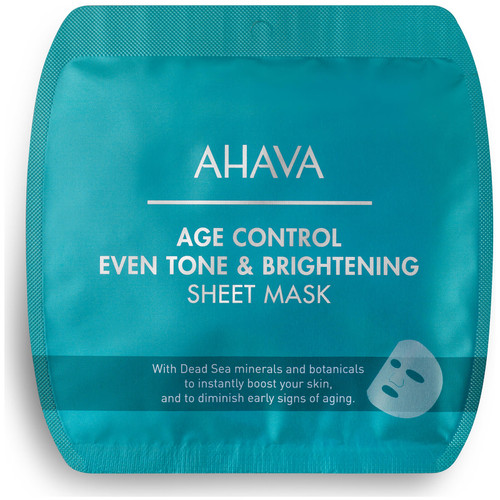 AHAVA Age Control Even Tone and Brightening Sheet Mask