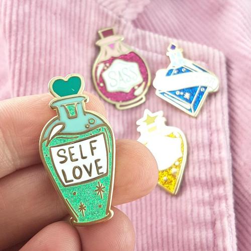 Jubly Umph Lapel Pin - Self Love