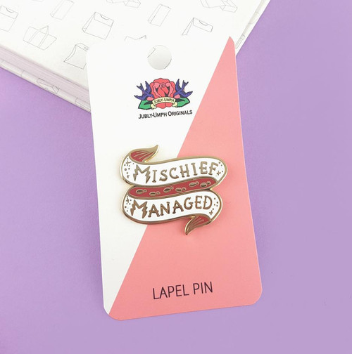 Jubly Umph Lapel Pin - Mischief Managed
