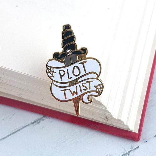 Jubly Umph Lapel Pin - Plot Twist