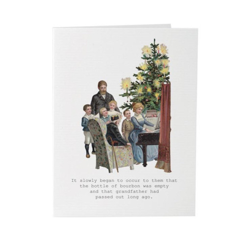 Tokyo Milk Greeting Card - 'Christmas' Slowly Occurred
