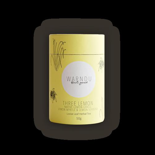 Warndu Australian Native Three Lemon Loose Leaf Tea