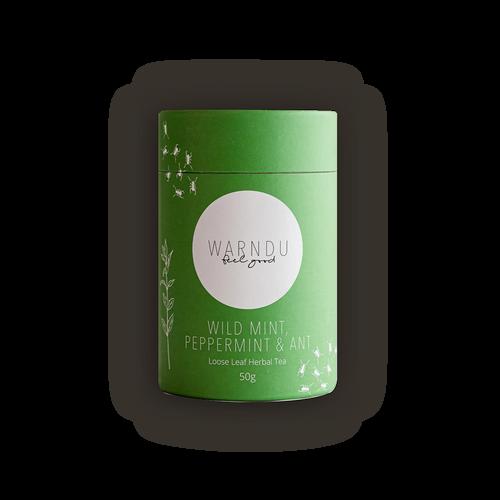 Warndu Native Mint & Tyrant Ant Loose Leaf Tea