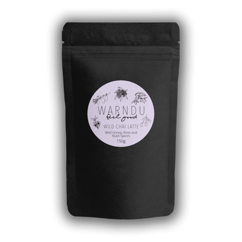 Warndu Wild Chai Latte ~ Wild Manuka Honey, Rose & Bush Spices