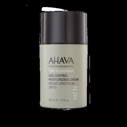 AHAVA Mens Age Control Moisturizing Cream Broad Spectrum SPF15
