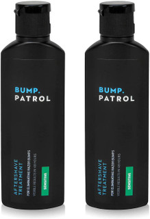 Bump Patrol Sensitive Strength Aftershave Formula - Gentle After Shave Solution Eliminates Razor Bumps and Ingrown Hairs - 2 Ounces
