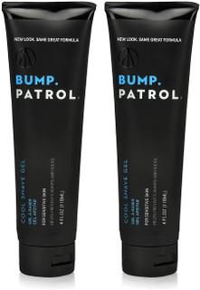 Bump Patrol Cool Shave Gel 4oz Tube (Sensitive) (2 Pack)