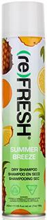 (re) FRESH - DRY SHAMPOO for Absorbing Hair Oil, Sweat, and Odor (Summer Breeze, 11.55 fl. oz.)