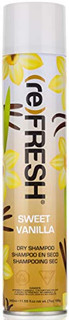 (re) FRESH - DRY SHAMPOO for Absorbing Hair Oil, Sweat, and Odor (Sweet Vanilla, 11.55 fl. oz.)