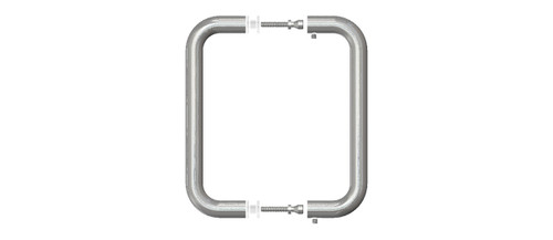 A00015, BMNW8X8BN, H-8BTB-BN, 8 inch Back to Back Pull, Brushed Nickel