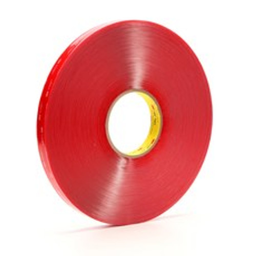 "3M VHB Clear Double Sided Tape 1/4"" x .020 x 216'"