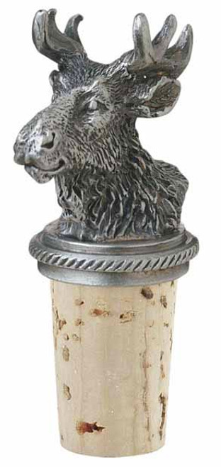 Moose Head Bottle Stopper
