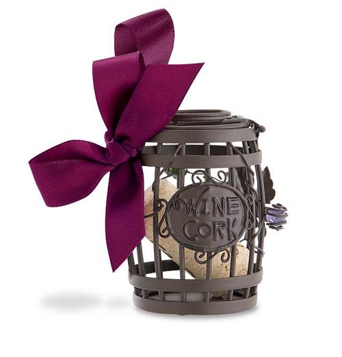 Wine Barrel Cork Cage Ornament