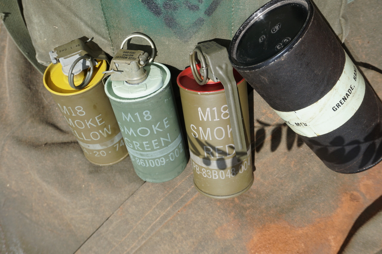 M18 Smoke grenades in vietnam