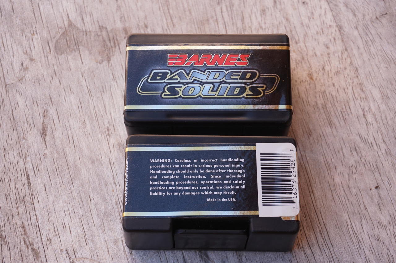 Barnes box of 50 .224 45 grain banded solids for sale