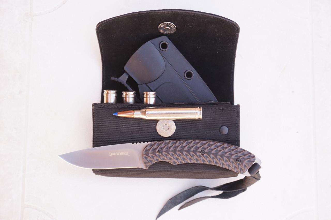Browning Incase Black 7mm Rem Mag Size cartridge