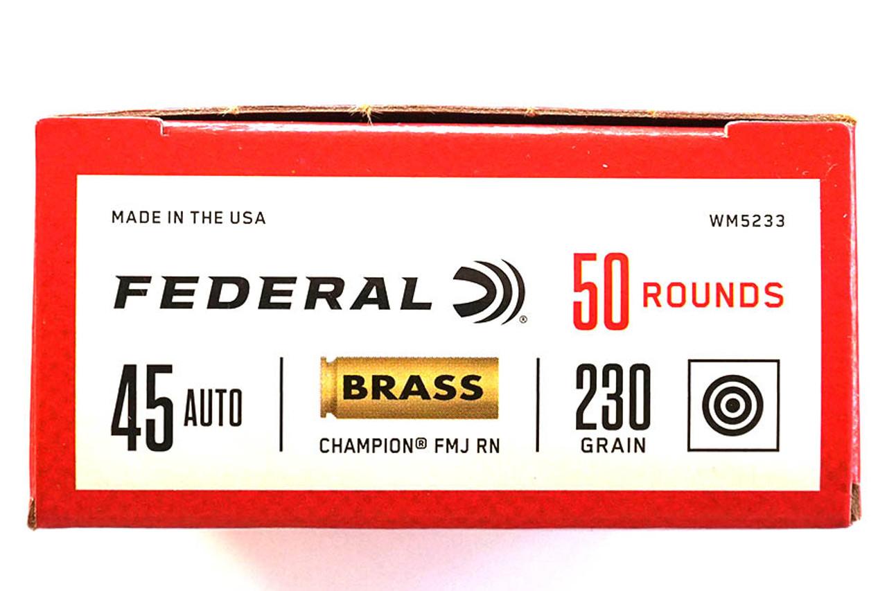 Federal 45 ACP 230 grain