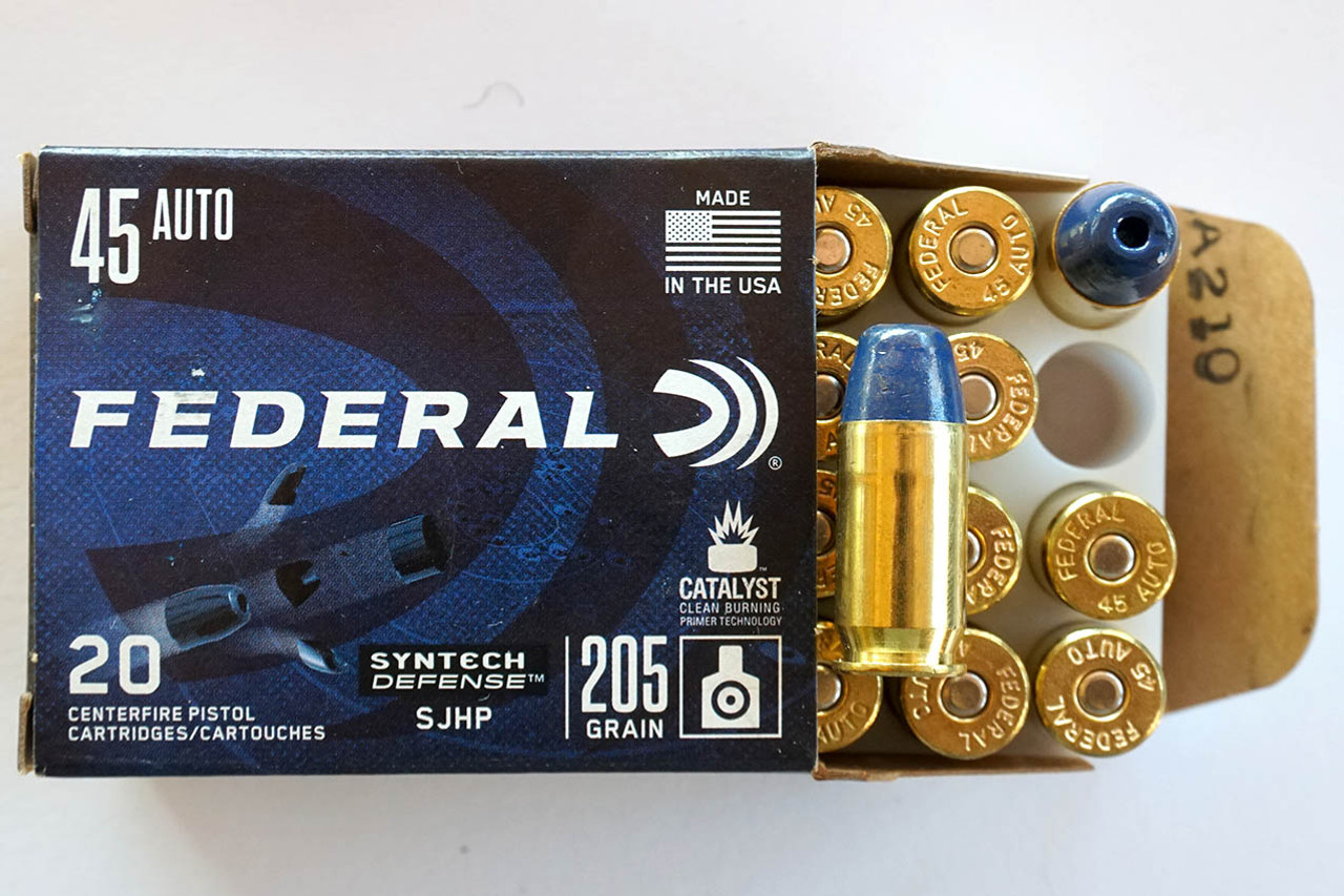 Federal 45 ACP in stock.