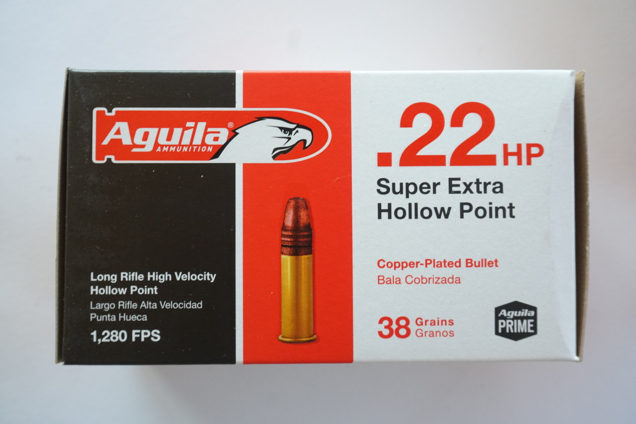 .22 High Velocity Hollow Point