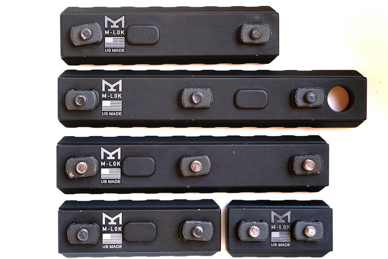 Aluminum M-LOK Rails