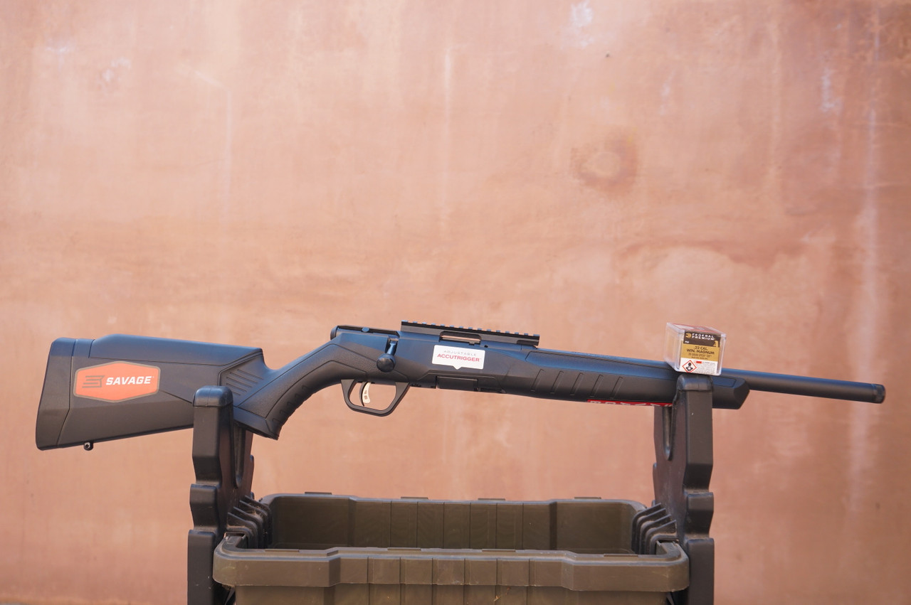 Savage 22 Magnum with Threaded Barrel