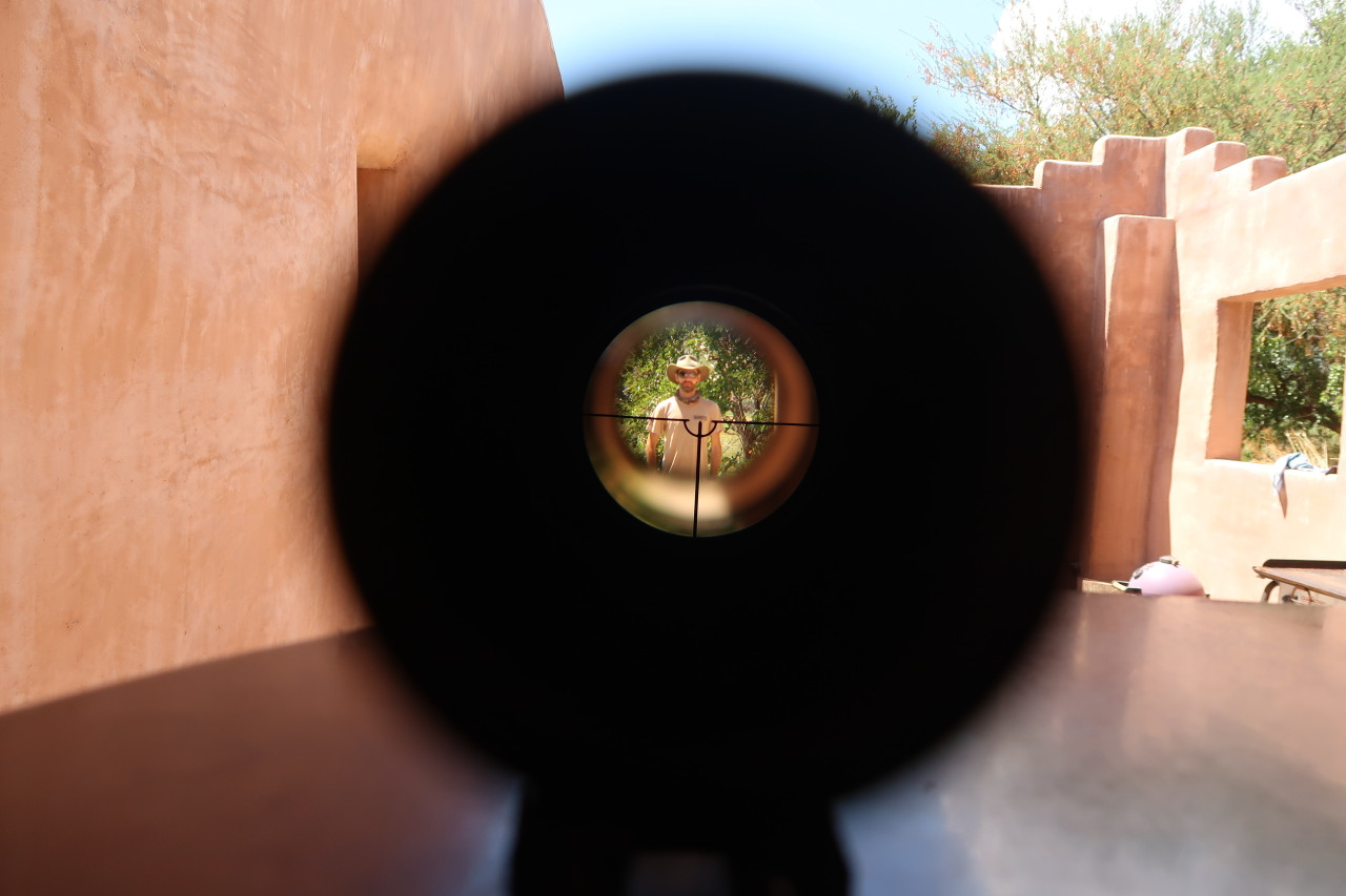 FS2000 / F2000 optic scope reticle