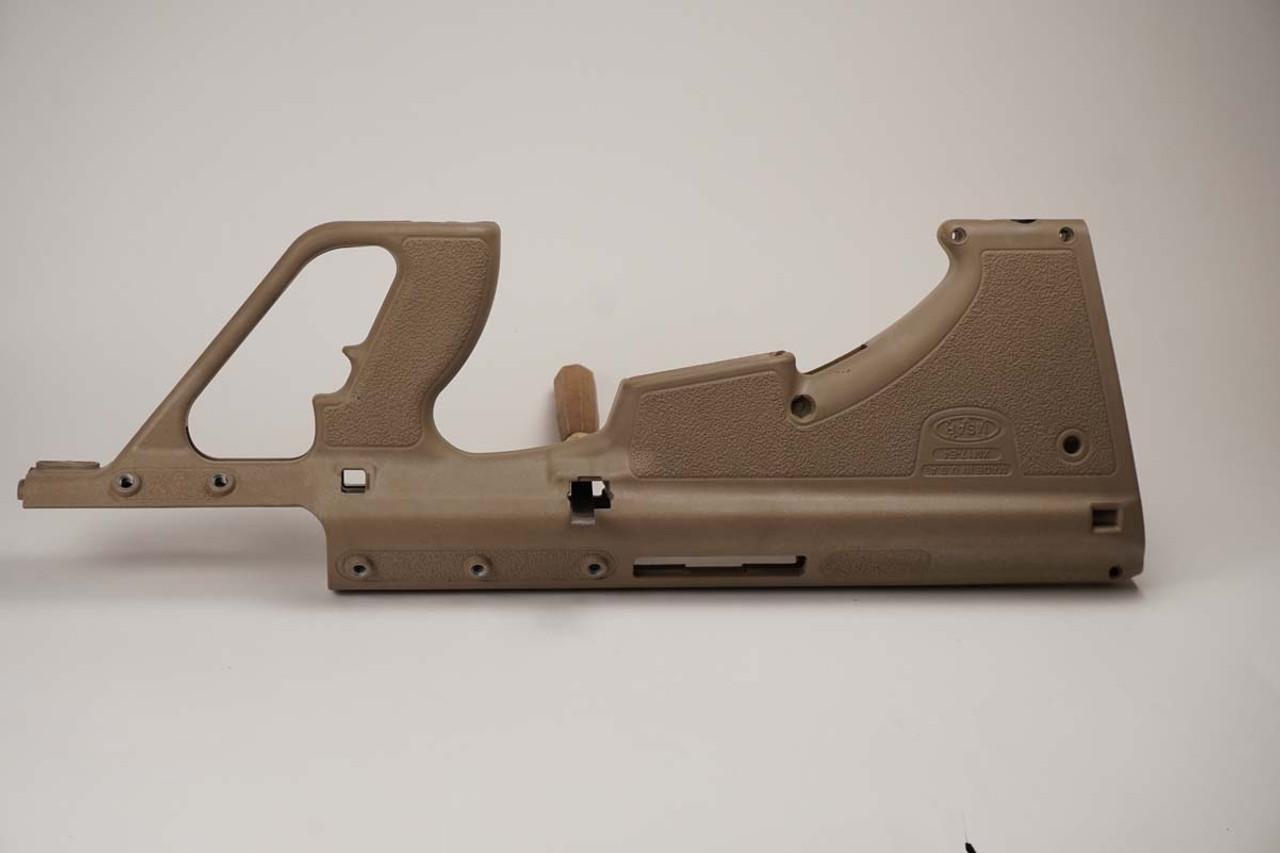 MSAR E4 tan stock side view
