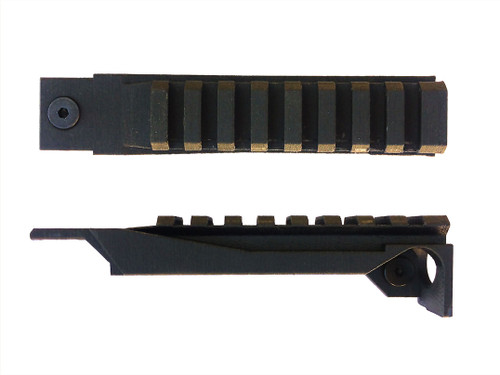 Ps90 low profile ultralight picatinny optic rail.